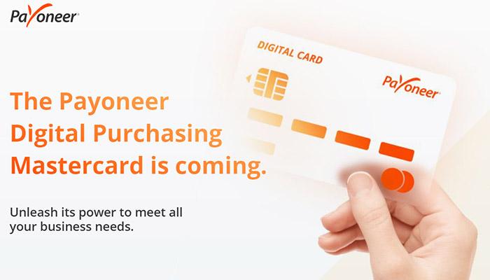 payoneer и mastercard