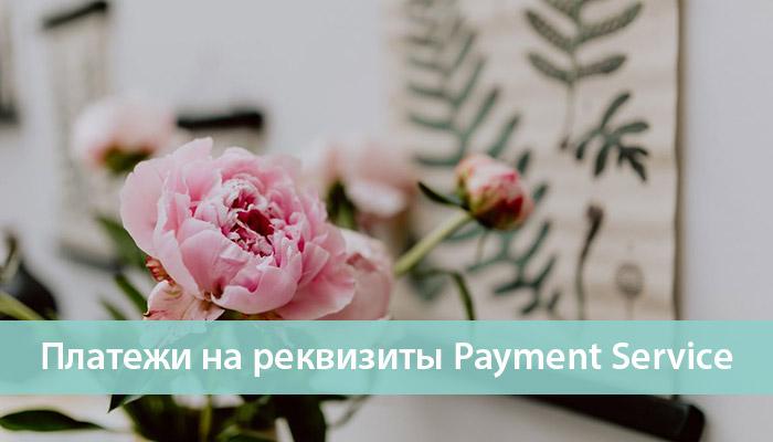 платежи на реквизиты Global Payment Service пайонир