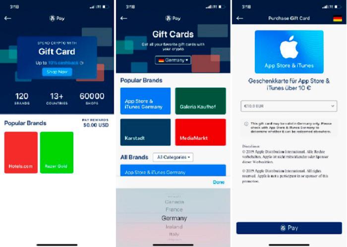 prilozhenie crypto com podarochnye karty